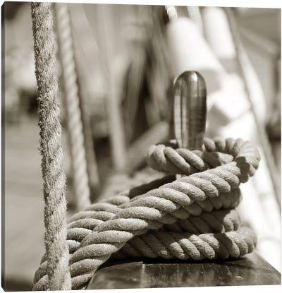 Sail Rope Canvas Art Print
