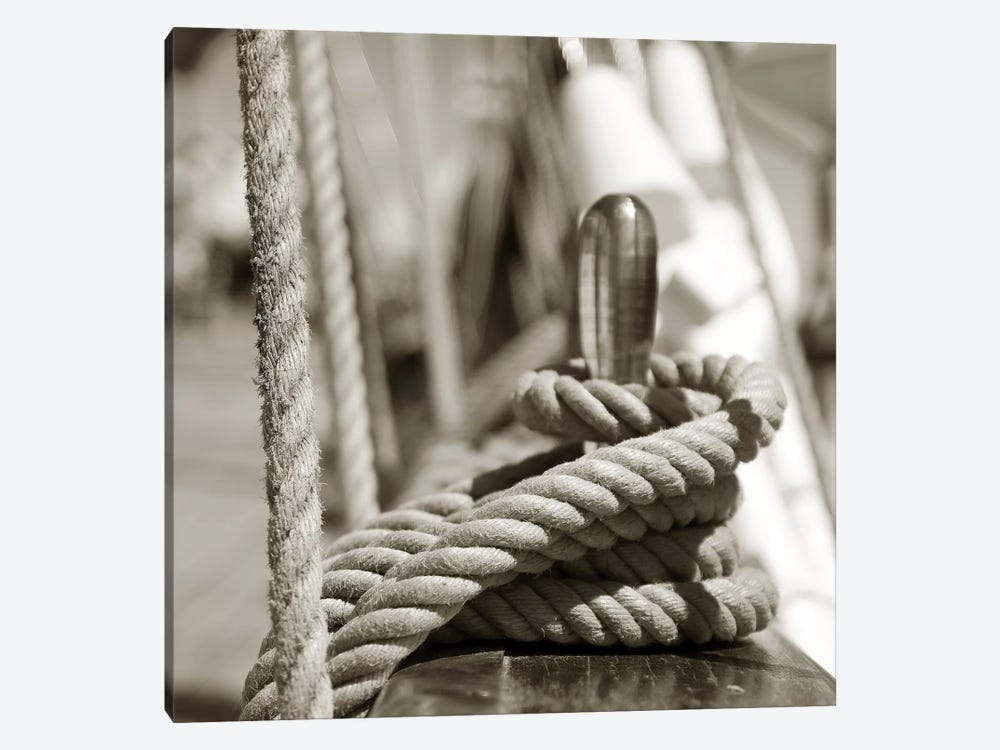 Sail Rope by PhotoINC Studio 1-piece Canvas Artwork
