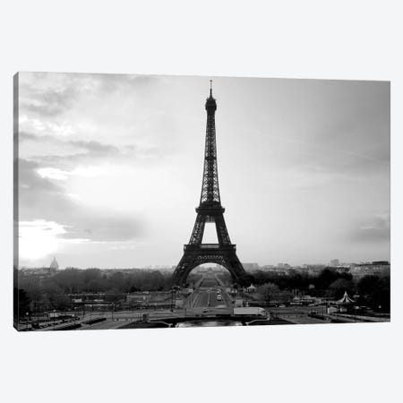 The Eiffel Tower Canvas Print #PIS147} by PhotoINC Studio Canvas Art