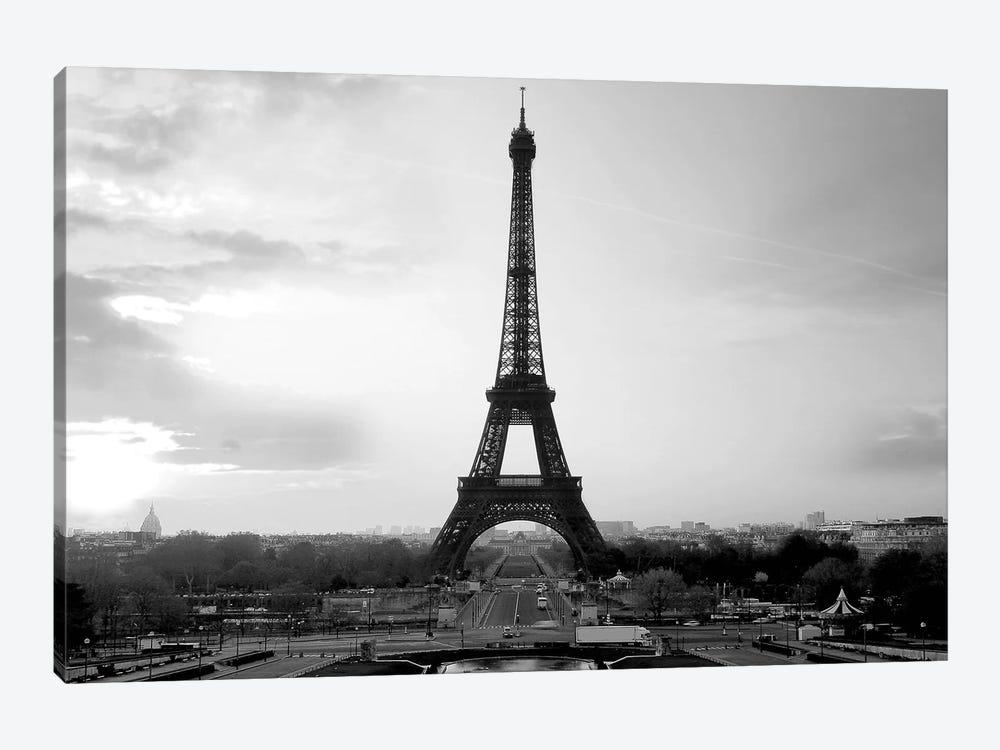 The Eiffel Tower by PhotoINC Studio 1-piece Canvas Art Print