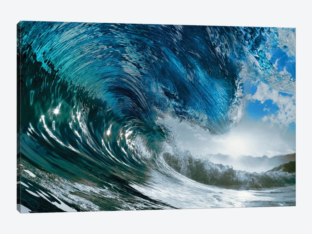The Wave by PhotoINC Studio 1-piece Art Print