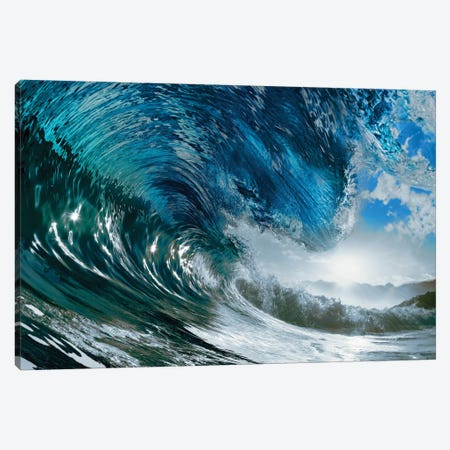 The Wave Canvas Print #PIS149} by PhotoINC Studio Canvas Art Print