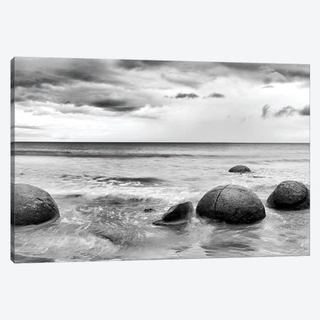 Beach Rocks I Canvas Print #PIS14} by PhotoINC Studio Canvas Wall Art