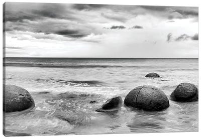 Beach Rocks I Canvas Print #PIS14