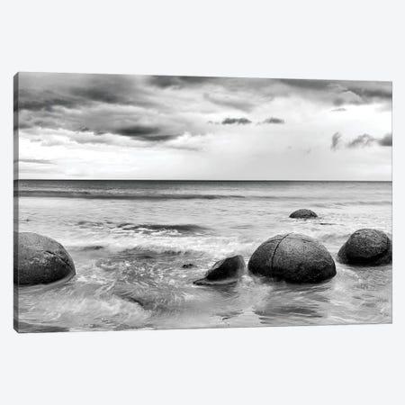 Beach Rocks I Canvas Print #PIS14} by PhotoINC Studio Canvas Wall Art