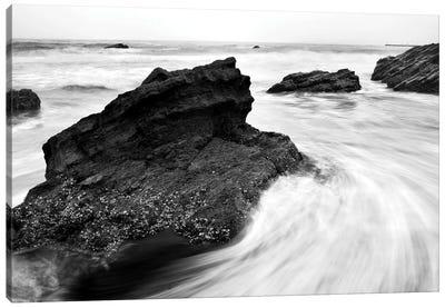 Beach Rocks II Canvas Print #PIS16