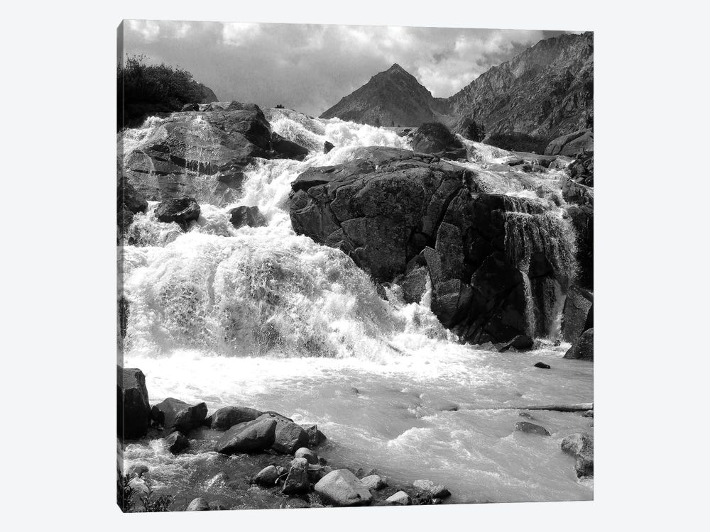 White Water 1-piece Canvas Print