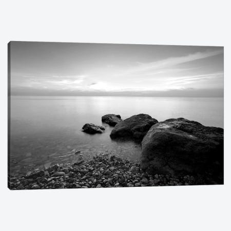 Beach Rocks II Canvas Print #PIS17} by PhotoINC Studio Canvas Artwork