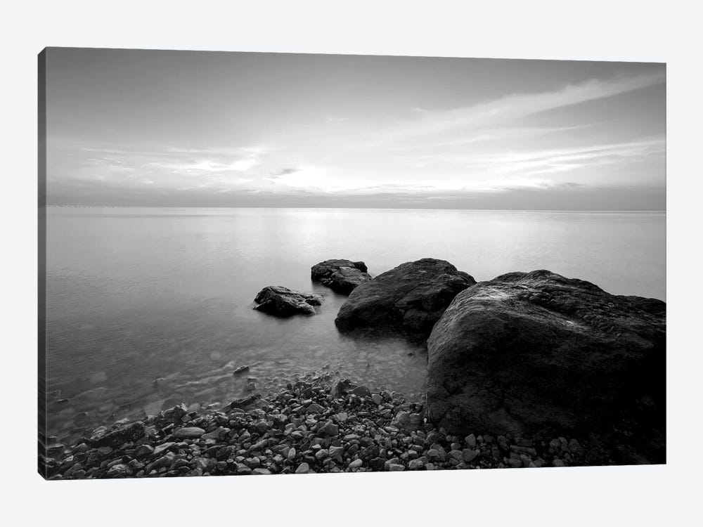 Beach Rocks II by PhotoINC Studio 1-piece Canvas Artwork