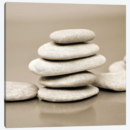 Zen Pebbles I Canvas Print #PIS184} by PhotoINC Studio Canvas Artwork