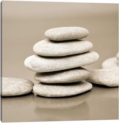 Zen Pebbles I Canvas Art Print