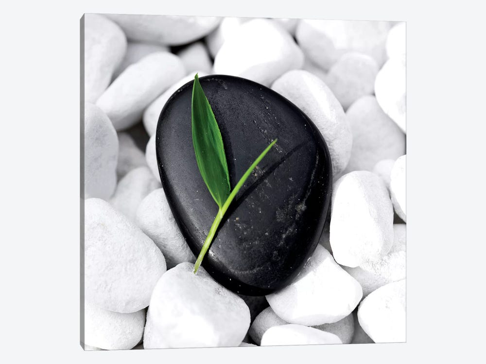 Zen Stone by PhotoINC Studio 1-piece Canvas Wall Art