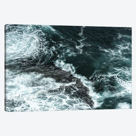 Waves II Canvas Print #PIS189} by PhotoINC Studio Canvas Art Print