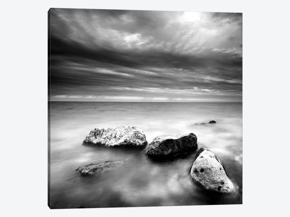Beach Rocks III by PhotoINC Studio 1-piece Canvas Art Print