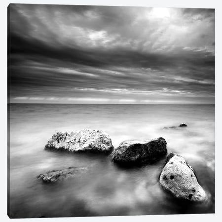 Beach Rocks III Canvas Print #PIS18} by PhotoINC Studio Canvas Art Print
