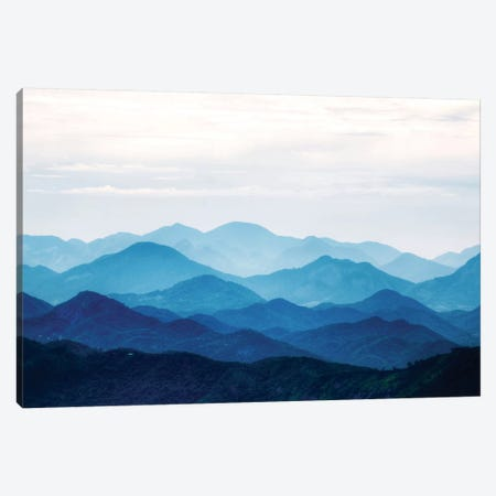 Blue Mountains Canvas Print #PIS25} by PhotoINC Studio Art Print