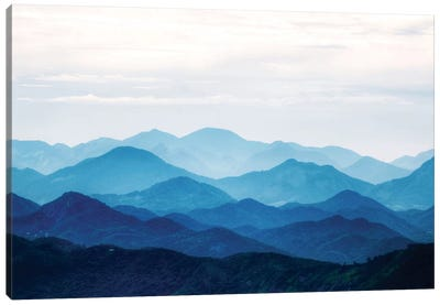 Blue Mountains Canvas Art Print
