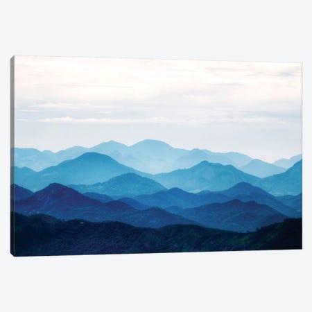 Blue Mountains Canvas Print #PIS25} by PhotoINC Studio Art Print