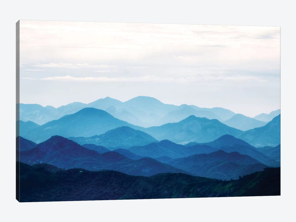 Blue Mountains by PhotoINC Studio 1-piece Art Print