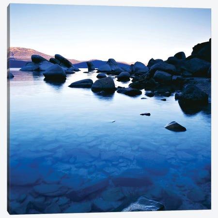 Blue Rocks Canvas Print #PIS26} by PhotoINC Studio Canvas Art Print