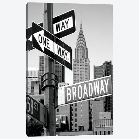 Broadway Canvas Print #PIS28} by PhotoINC Studio Canvas Art
