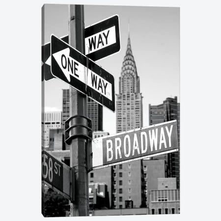 Broadway Canvas Print #PIS28} by PhotoINC Studio Canvas Art