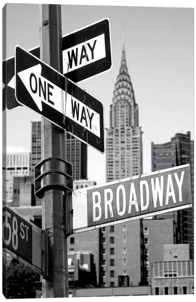Broadway Canvas Art Print