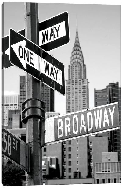 Broadway Canvas Art Print