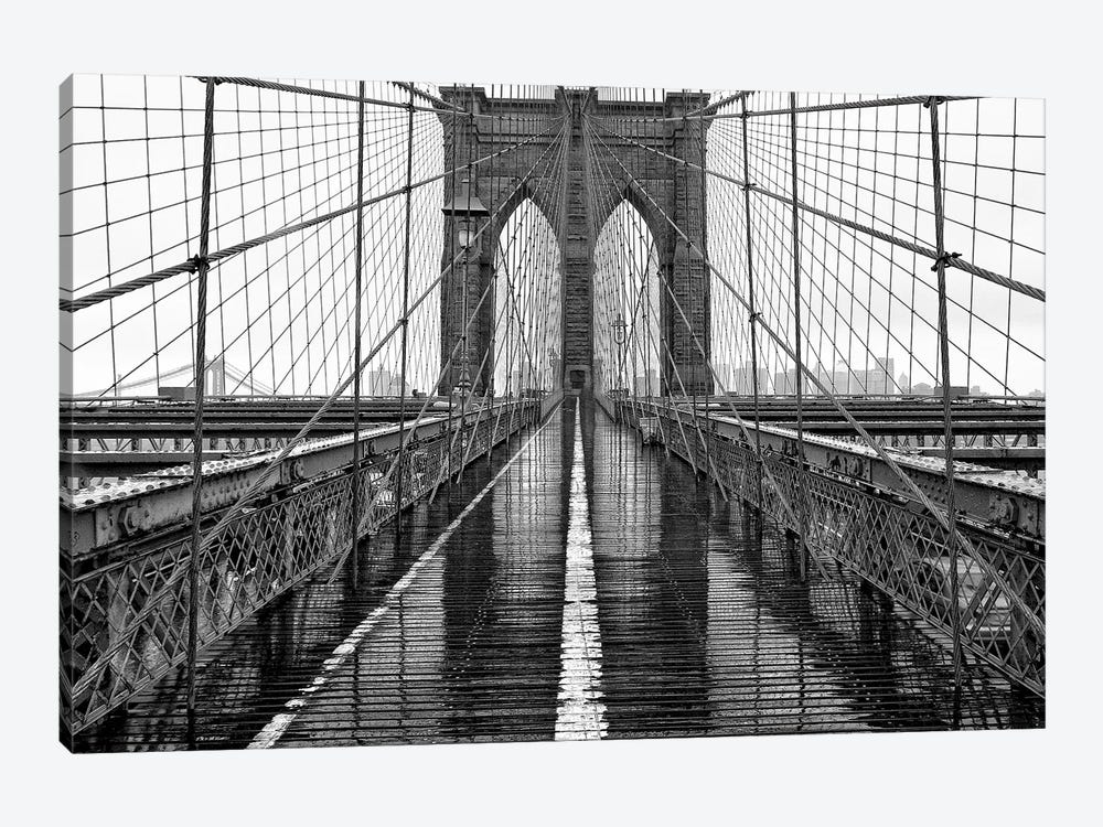 Brooklyn Bridge by PhotoINC Studio 1-piece Art Print