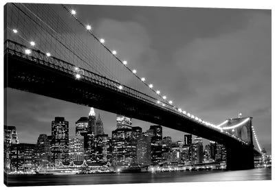 Brooklyn Bridge VIew Canvas Art Print
