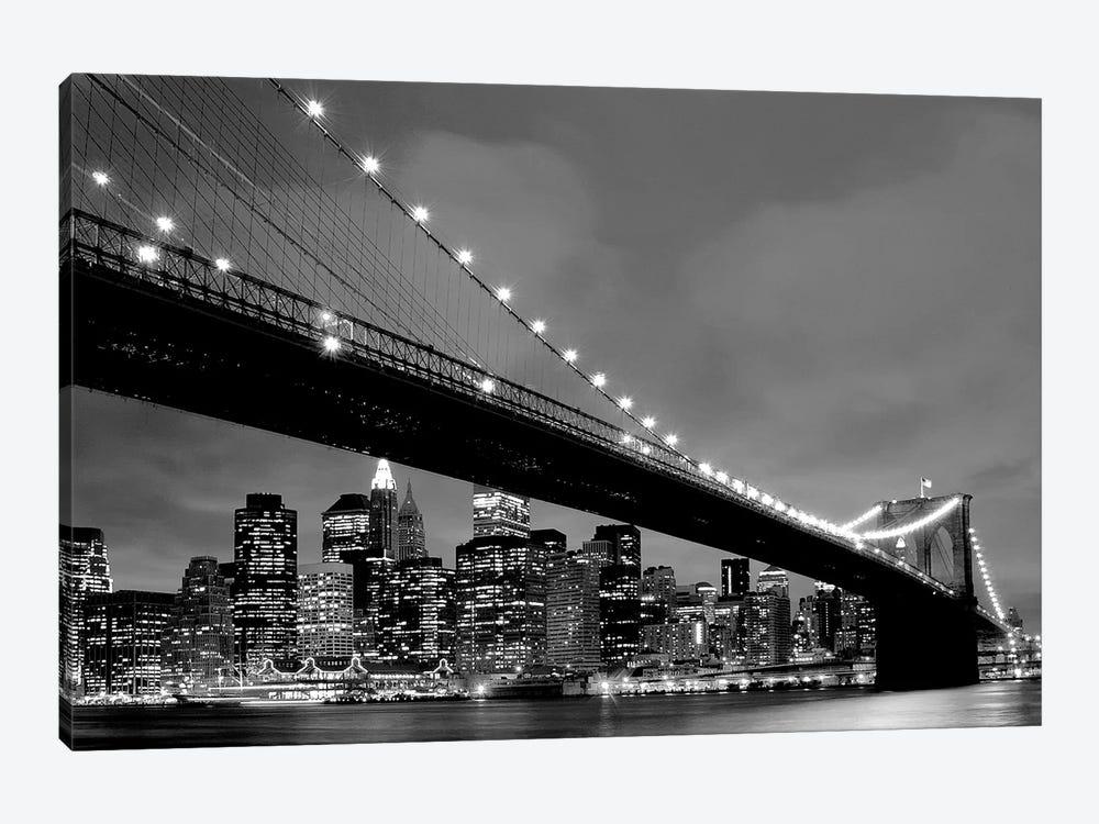 Brooklyn Bridge VIew by PhotoINC Studio 1-piece Canvas Print