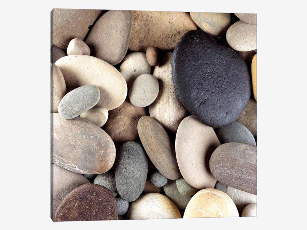 Brown Pebbles by PhotoINC Studio 1-piece Art Print