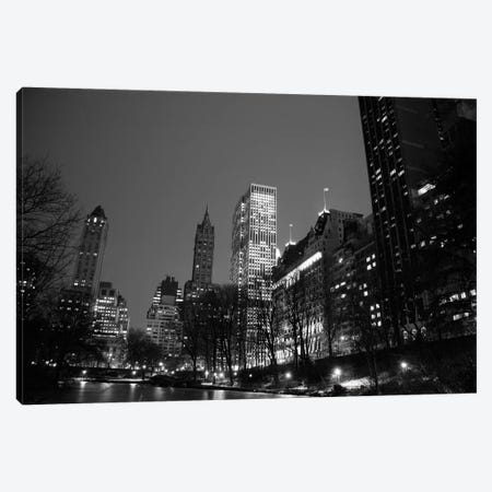 Central Park VIew Canvas Print #PIS43} by PhotoINC Studio Canvas Wall Art