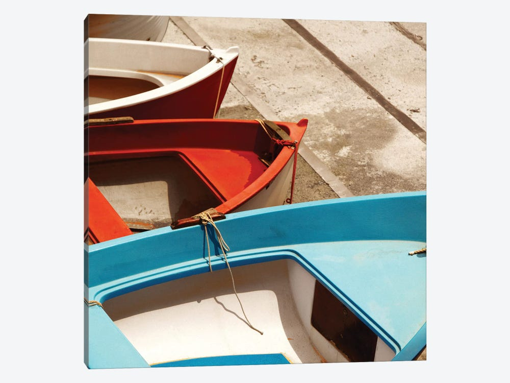 Colorful Boats by PhotoINC Studio 1-piece Art Print
