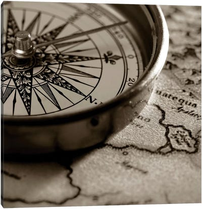 Compass Canvas Art Print