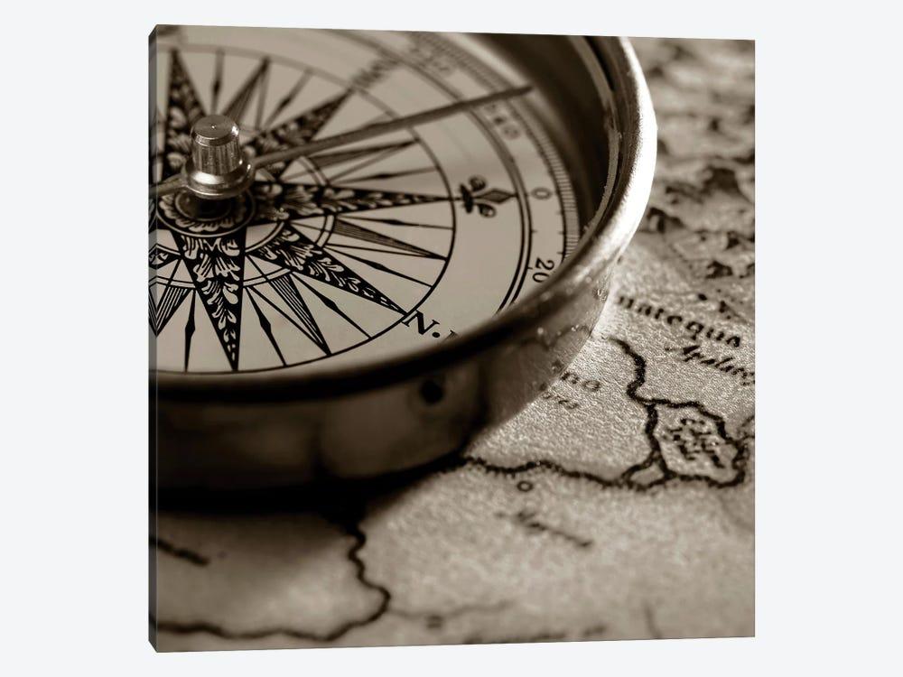 Compass by PhotoINC Studio 1-piece Canvas Art
