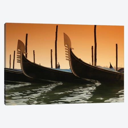 Gondola Canvas Print #PIS66} by PhotoINC Studio Art Print