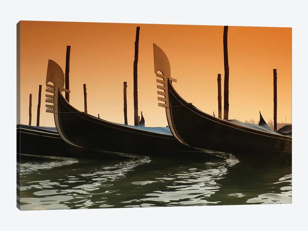 Gondola by PhotoINC Studio 1-piece Canvas Artwork