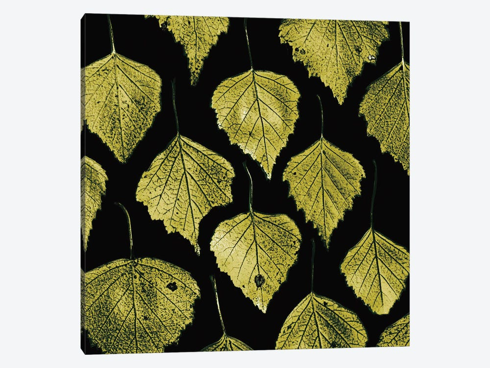 Green Leaves by PhotoINC Studio 1-piece Canvas Wall Art