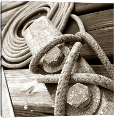 Knots And Bolts Canvas Art Print