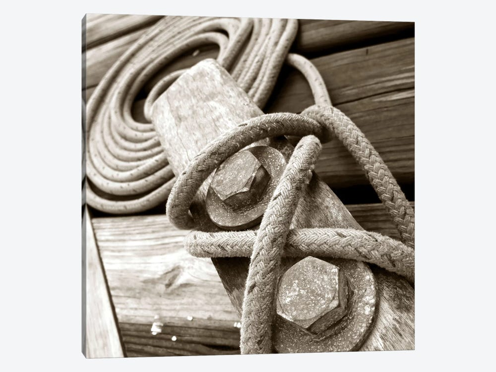 Knots And Bolts by PhotoINC Studio 1-piece Canvas Artwork