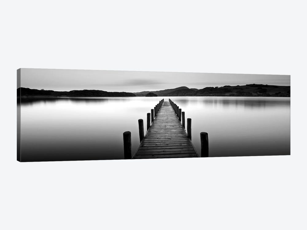 Lake Pier II by PhotoINC Studio 1-piece Canvas Artwork