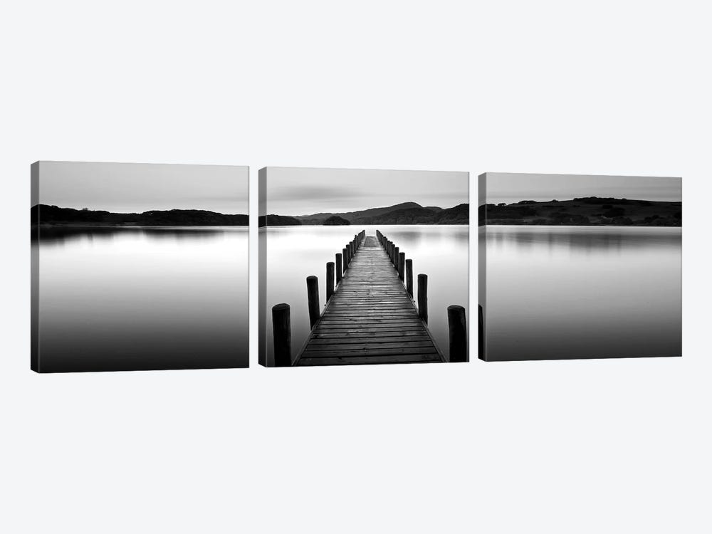 Lake Pier II by PhotoINC Studio 3-piece Canvas Art