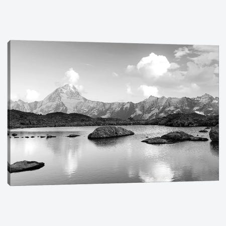 Mountain Lake Canvas Print #PIS86} by PhotoINC Studio Canvas Art Print