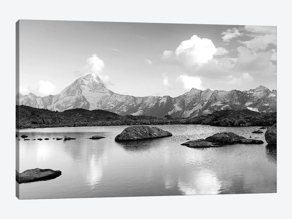 Mountain Lake by PhotoINC Studio 1-piece Canvas Art