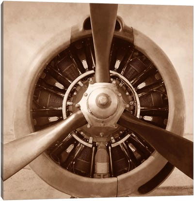 Aviation II Canvas Art Print