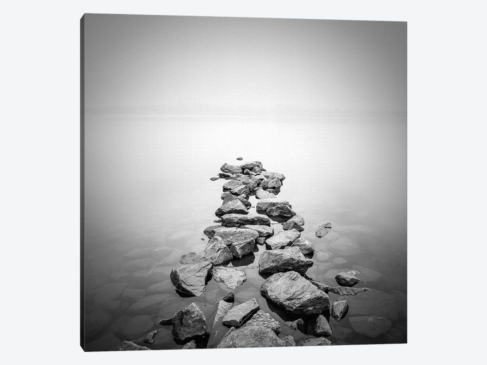 Piled Rocks by PhotoINC Studio 1-piece Canvas Wall Art