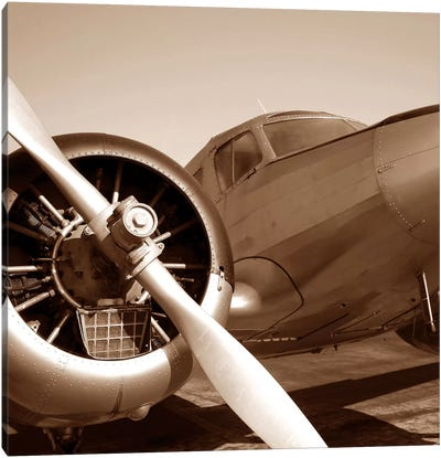 Aviation III Canvas Art Print