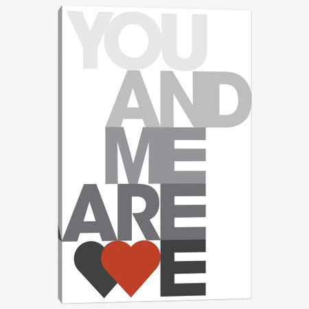 You Me We III Canvas Print #PJO3} by Parker Jones Art Print
