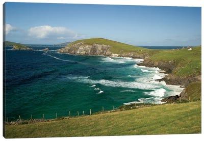 Dingle Peninsula Coastline, Ireland, Waves Canvas Art Print